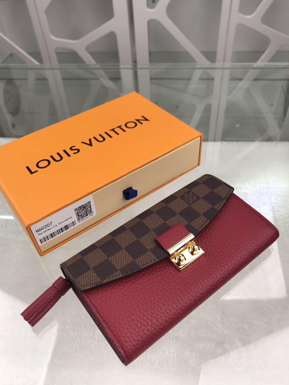 Louis Vuitton ルイヴィトン レディース 財布 2色 ブランドコピー 代引き通販口コミ N60215