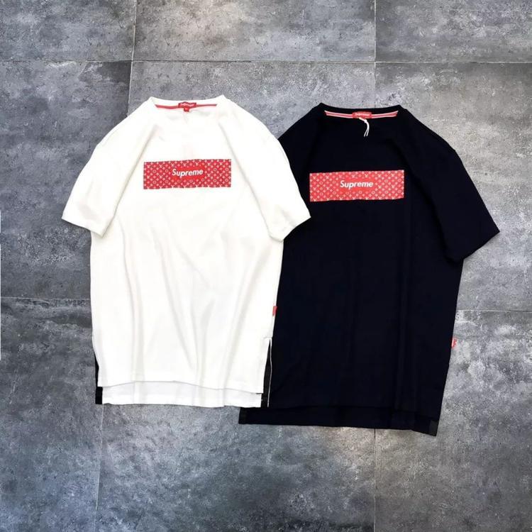 Louis Vuitton *supreme カップル 半袖 日本国内発送 ブランドスーパーコピー 後払い