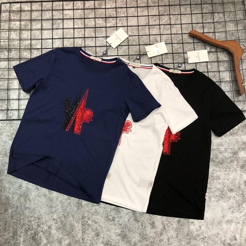 モンクレール Moncler カップル Tシャツ 専門店安全なところ 送料無料