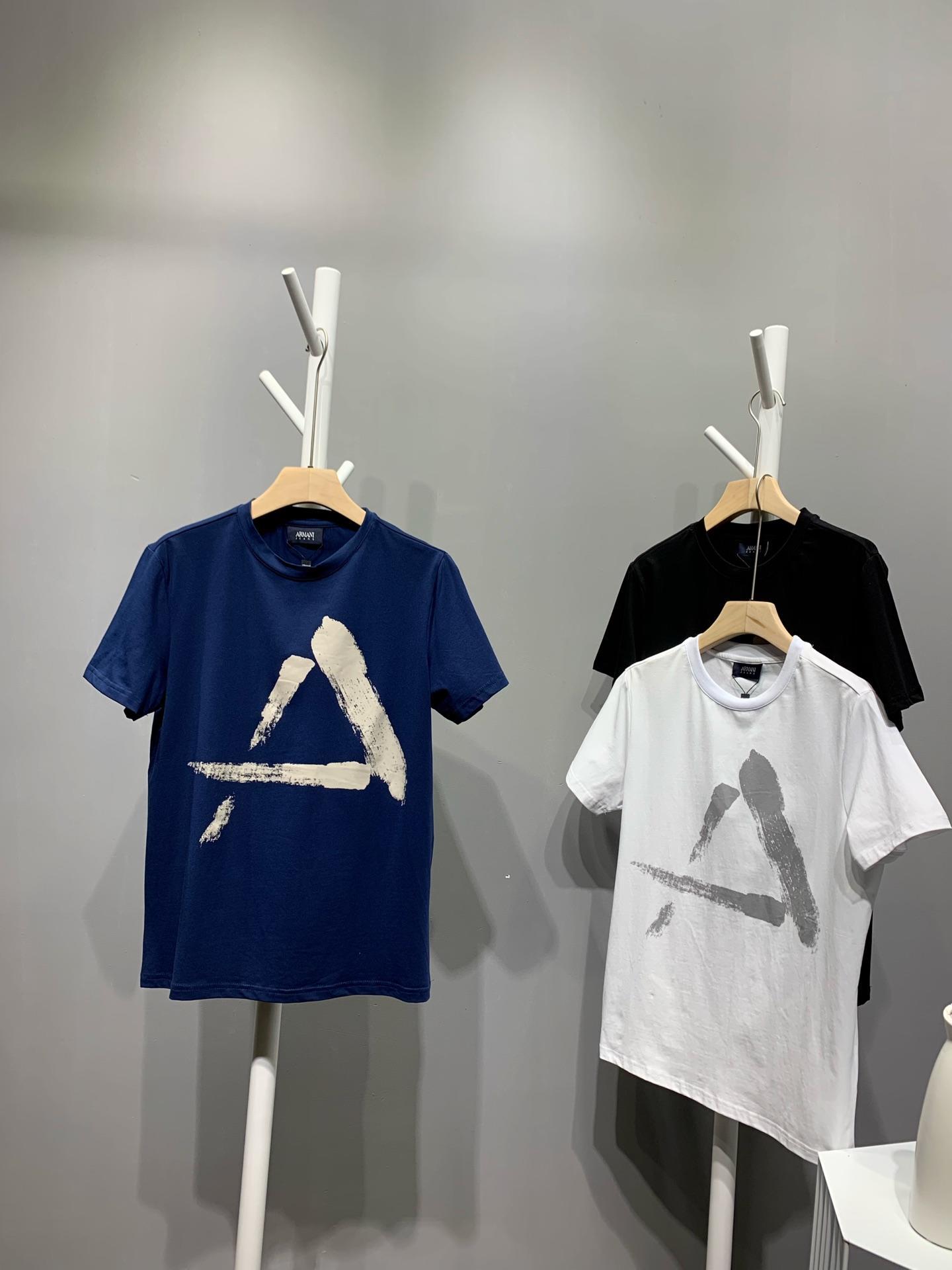 Armaniアルマーニ メンズ Tシャツ 専門店届かない 日本国内発送 後払い
