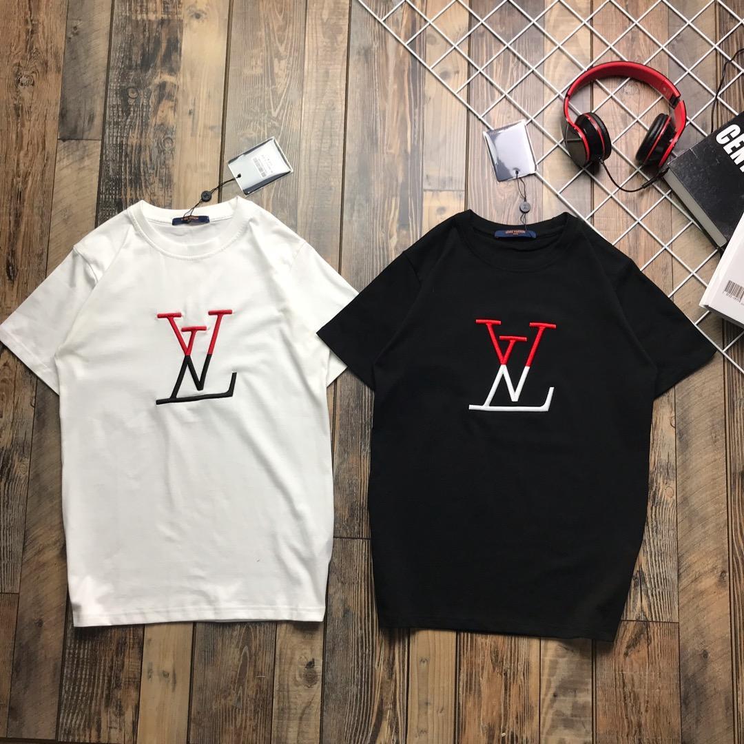 Louis Vuitton ルイヴィトン カップル Tシャツ ブランドコピー 通販安全 送料無料