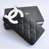 新作のシャネル激安長財布 164 黑白 カンボンライン がま口式小銭入れ ファッション特売