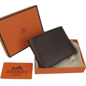 ブランド通販HERMES-エルメス-H014-Deep-Coffee-財布激安屋-ブランドコピー