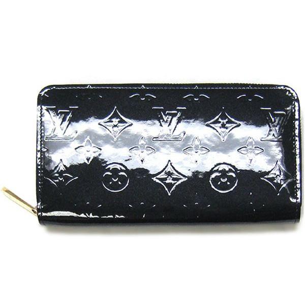ルイヴィトン ヴェルニ 財布 M91457 ジッピーウォレット 黑アンフィニ