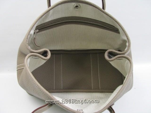 エルメス ガーデンTPM ショルダー ネゴンダ/エトープ(シルバー金具)2104100802002