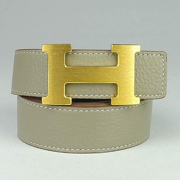 エルメス コンスタンスHベルト リバーシブル 90 ブラック× 灰色×ゴールド金具HERMES08