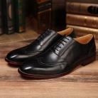 サルヴァトーレフェラガモ レザー メンズ ドレスシューズ ビズネスシューズ 紳士靴 レースアップ ブラック  FG275043-2