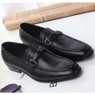 サルヴァトーレフェラガモ レザー メンズ ドレスシューズ ビズネスシューズ 紳士靴 バックル ブラック  FG275042-2