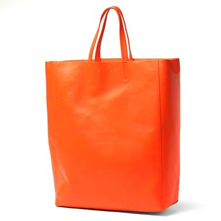 セリーヌ レザー 16440 3dbt 20orトートバッグ CABAS オレンジ 2016年春夏新作 レディース