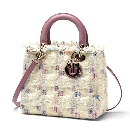 クリスチャンディオール m05500tba 941ロゴチャーム付きハンドバッグ(2WAY仕様) Lady Dior レディディオール マルチカラー【2016年新作】レディース