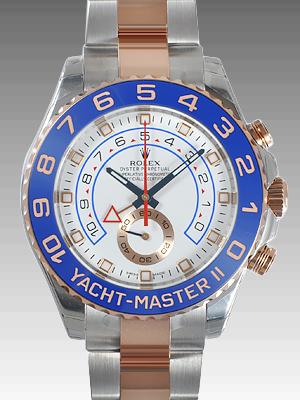 ロレック スオイスターパーペチュアル ヨットマスターII 116681