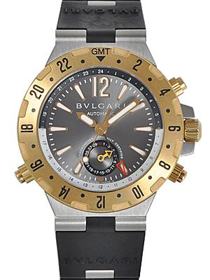 ブルガリ ディアゴノ プロフェッショナル GMT GMT40C5SGVD
