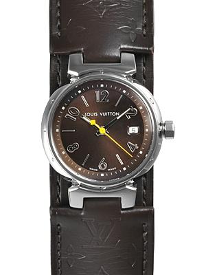 ルイ ヴィトン タンブール レディース 腕時計 Q12111