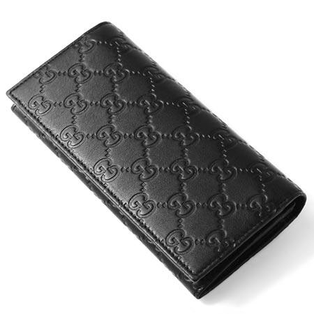 グッチグッチッシマレザー 長財布小銭入れ付き ブラック245911 aa61r 1000 メンズ& レディース