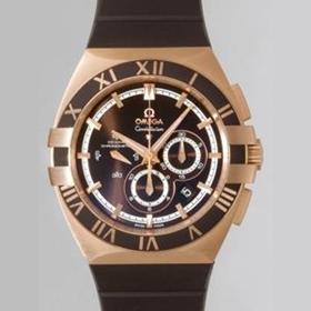 おしゃれなブランド時計がオメガ OMEGA コンステレーション 121.62.41.50.13.001 ブラウンを提供します. おすすめ