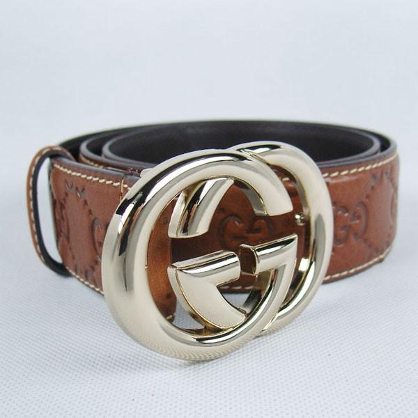 GUCCIグッチスーパーコピー GG型押し エナメル ゴールド金具 belt-40