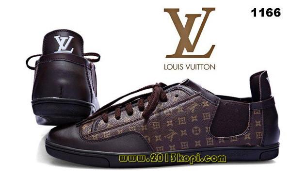 ルイ・ヴィトン  靴 モノグラムキャンバス、カーフレザーLOUISVUITTON42