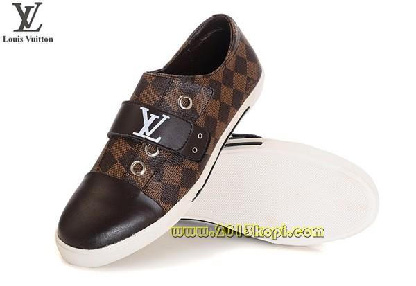 ルイ・ヴィトン ダミエ 靴 ダークブラウン 2012新作LOUISVUITTON41