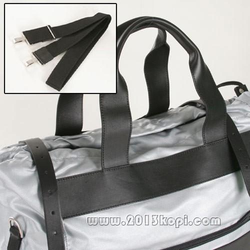 シャネル スポーツラインA34847 ハンドバッグ シルバー&ブラック