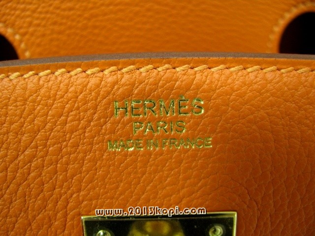 エルメス バーキン30トゴ/ポティロン 金具 ゴールド hms177