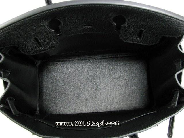 エルメス バーキン30トゴ/ブラック 金具 シルバー hms169