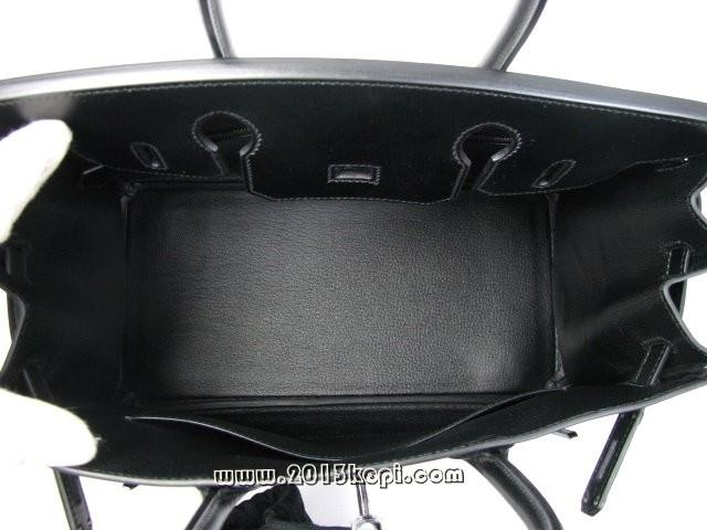 エルメス バーキン30ボックスカーフ/ソーブラック 金具 ブラック hms164