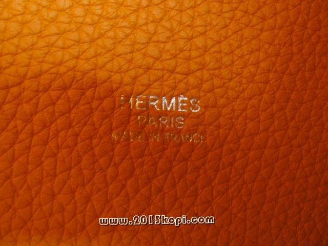 エルメス ピコタン・ロックPM トリヨンクレマンス オレンジ 2104100626707