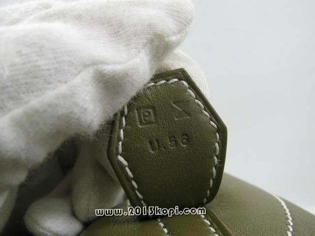 エルメス ボリードリラックス35/ハンドバッグ/□P  /ヴォーシッキム(P刻/)2104100861009