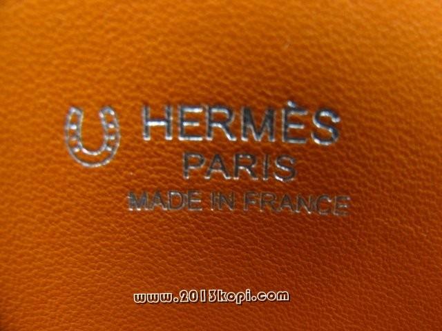 エルメスボリード37 トリヨンクレマンス オレンジ×ブルージーン 2104100739766