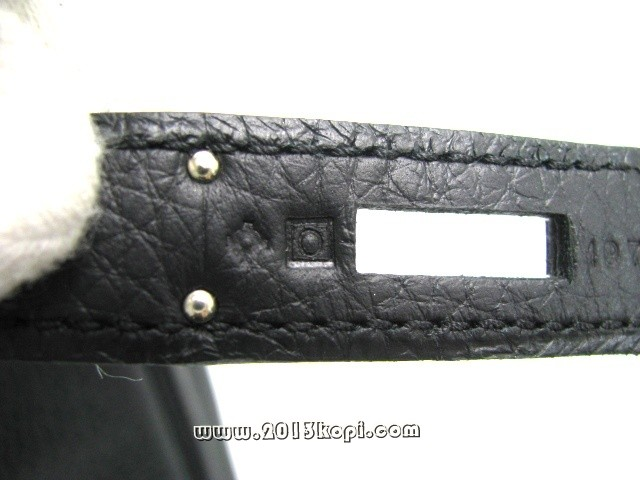 エルメス ケリー32 内縫い トリヨンクレマンス/ブラック 金具 シルバー 2104100786708
