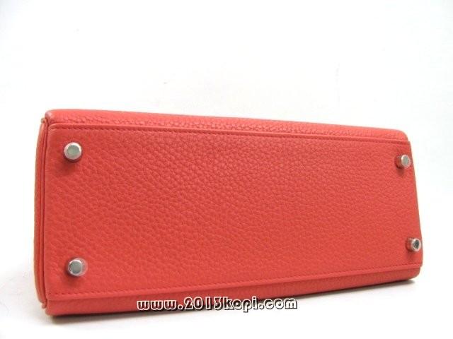 エルメス ケリー28 内縫い トリヨンクレマンス/ブーゲンビリア 金具 シルバー 2104100701145