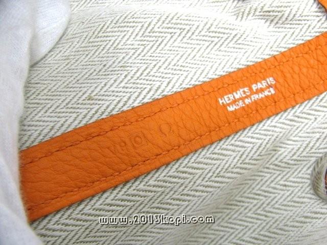 エルメス ガーデンTPM ネゴンダ/オレンジ(金具:シルバー)2104100721174