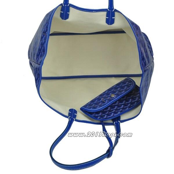 GOYARD ゴヤール トートバッグ サンルイPM ブルー gyd021