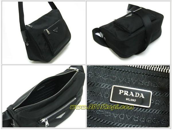 プラダ PRADA バッグ ショルダーバッグBT0758ナイロンブラック