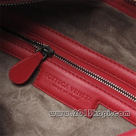 ボッテガ ヴェネタ 232499 v0510 6543 レザーハンドバッグ レッド レディース