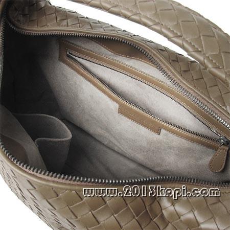 ボッテガ ヴェネタ181347 vq130 2802イントレチャートのレザーショルダーバッグ レディース サンドベージュ