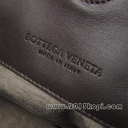 ボッテガ ヴェネタ125787 v0016 2072 イントレチャートのレザーショルダーバッグ(S) レディース ココアブラウン