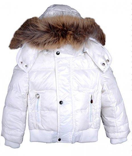 モンクレール キッズ ダウンジャケット moncler-k010 ホワイト