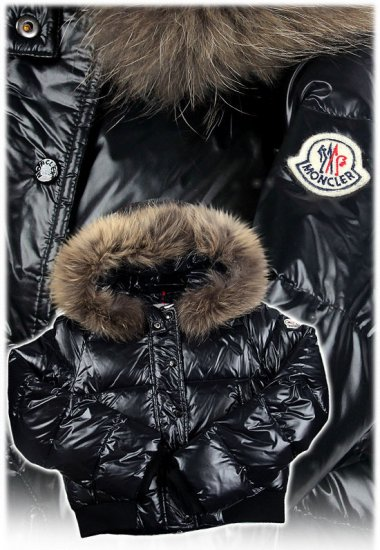 モンクレール キッズ ダウンジャケット moncler-k012 ブラック