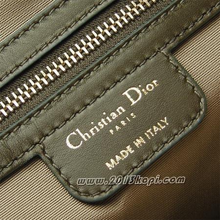 クリスチャン・ディオール m1017 opcd 656ロゴチャーム付き トートバッグ PANAREA パナレア レディース ダークオリーブグリーン