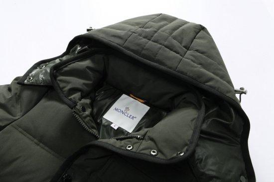 モンクレール キッズ ダウンジャケット moncler-k110 アーミーグレーン