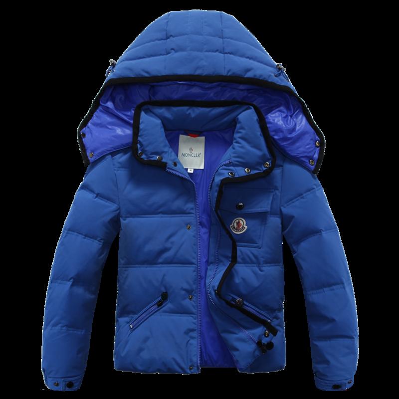 モンクレール キッズ ダウンジャケット moncler-k114 ブルー
