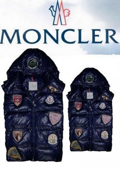 モンクレール キッズ ベスト moncler-k030 ダークブルー