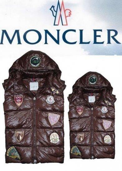 モンクレール キッズ ベスト moncler-k033 チョコレート