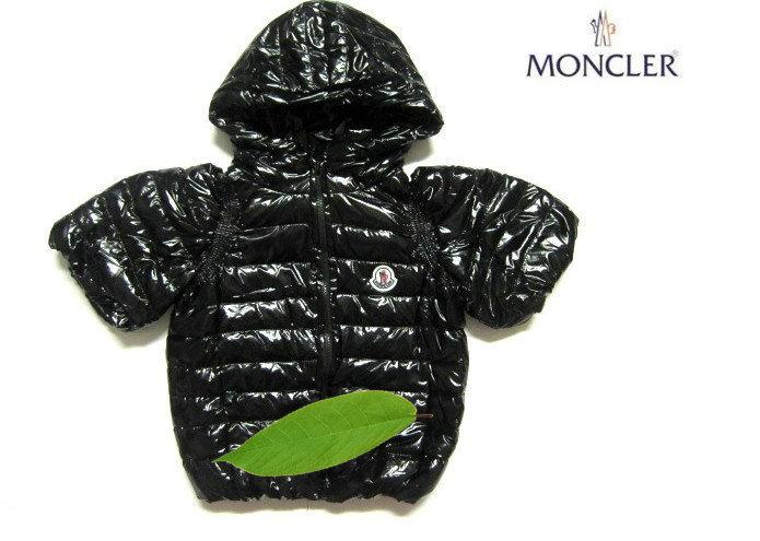 モンクレール キッズ ロングコート moncler-k077 ブラック