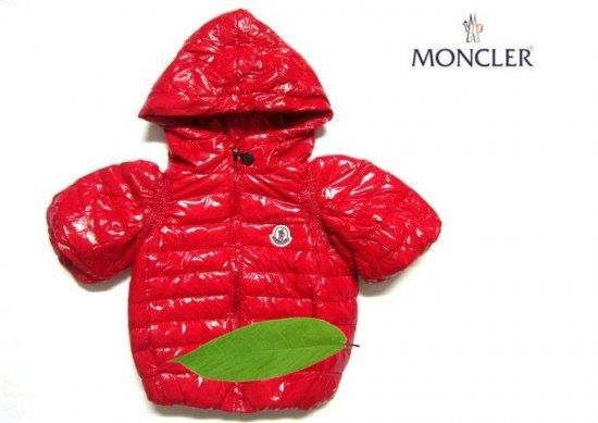 モンクレール キッズ ロングコート moncler-k079 レッド