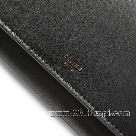 セリーヌ 長財布[小銭入れ付き ラージマルチファンクション ブラック10760 3fta 38no レディース