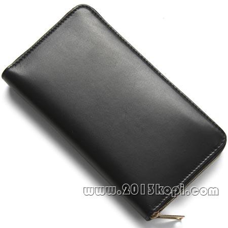 セリーヌ ラウンドファスナー長財布[小銭入れ付き ブラック10685 3fta 38no レディース
