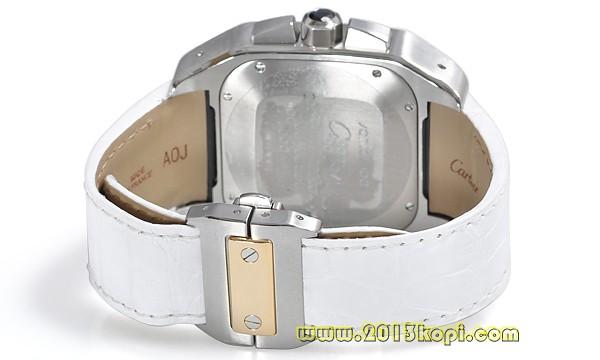 カルティエ サントス100 クロノ LM W20091X7