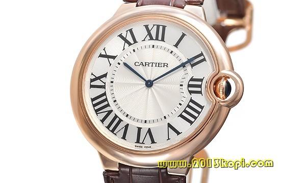 カルティエ エクストラフラット バロンブルーXL W6920054